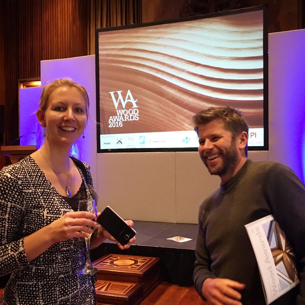 Wood Awards where Woodpeckers was Highly Commended.