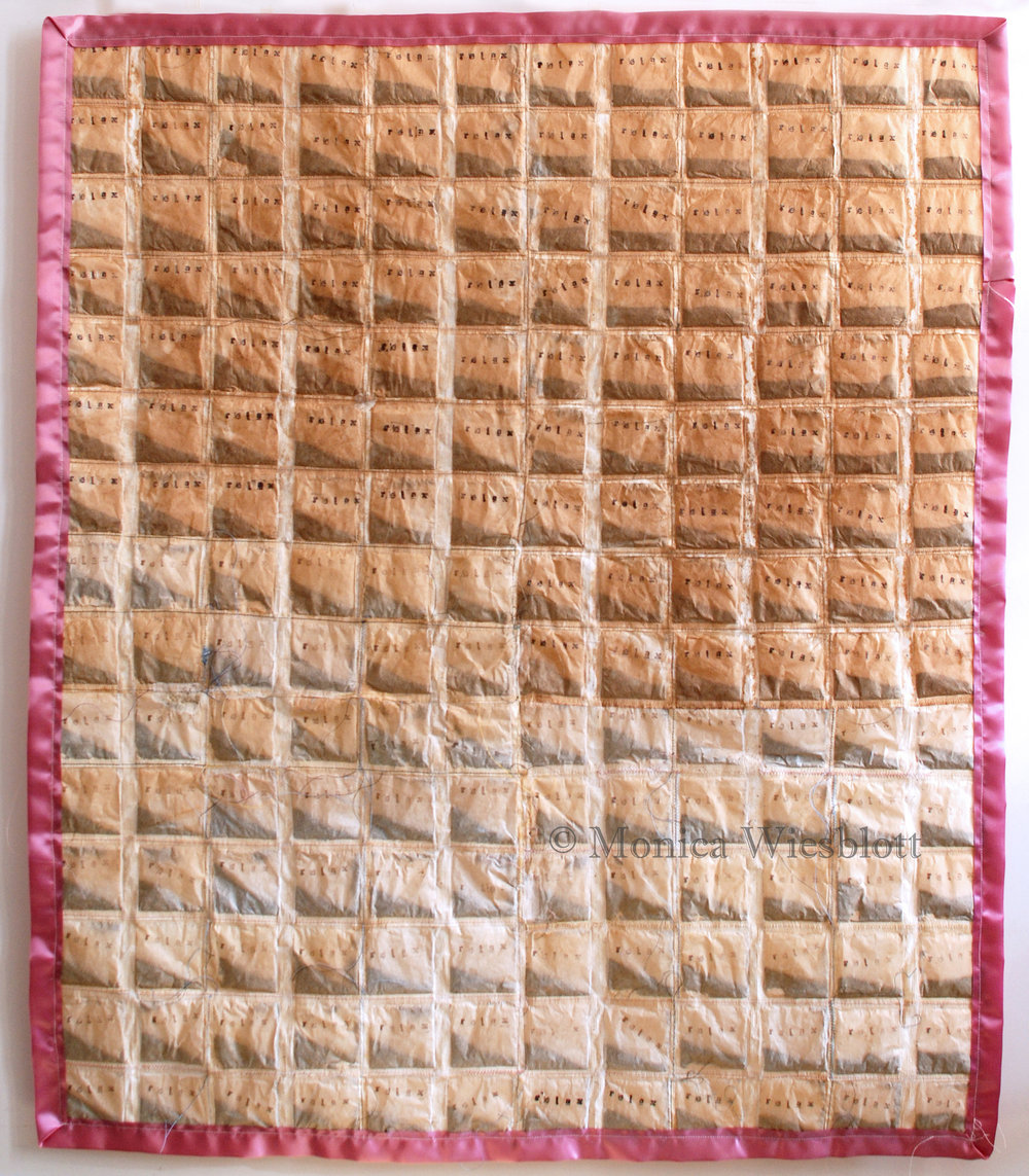 Tear Stained Quilt, 2017