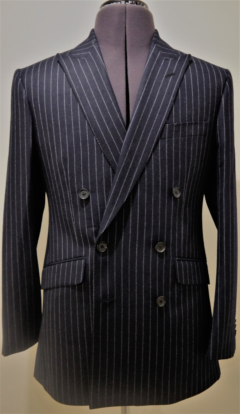 Colmore Tailors | Chalk-stripe Double Breasted Suit