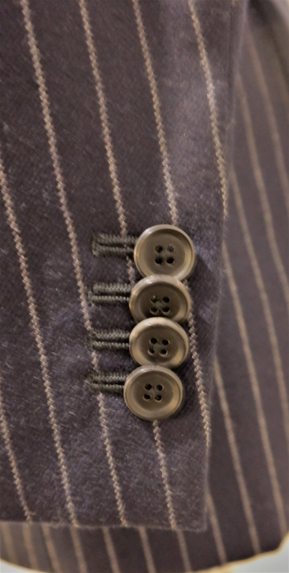Colmore Tailors | Kissing Buttons