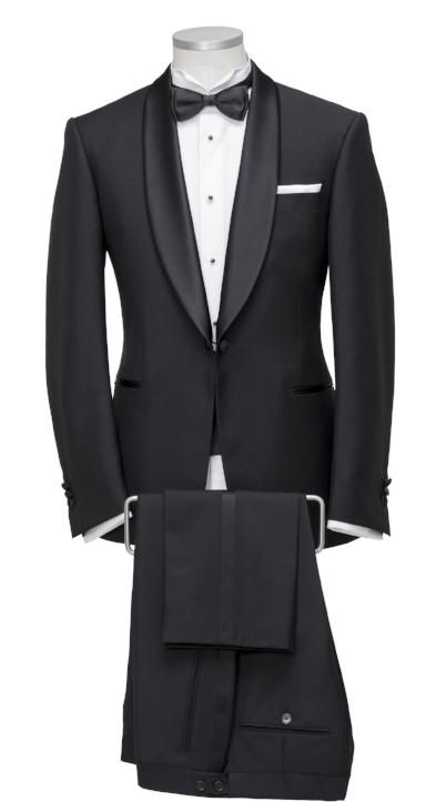 Colmore Tailors | Shawl Lapel Tuxedo