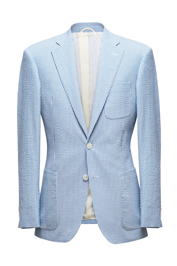 Solbiati Cotton Seersucker Jacket | Colmore Tailors