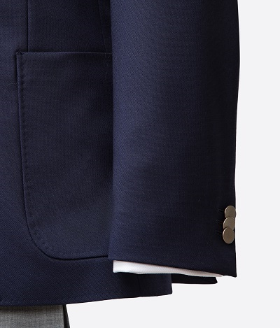 Barberis Blue Suit | Colmore Tailors