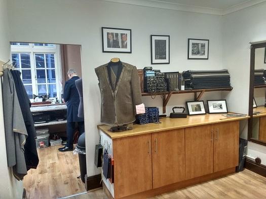 Colmore Tailors City Centre Workshop