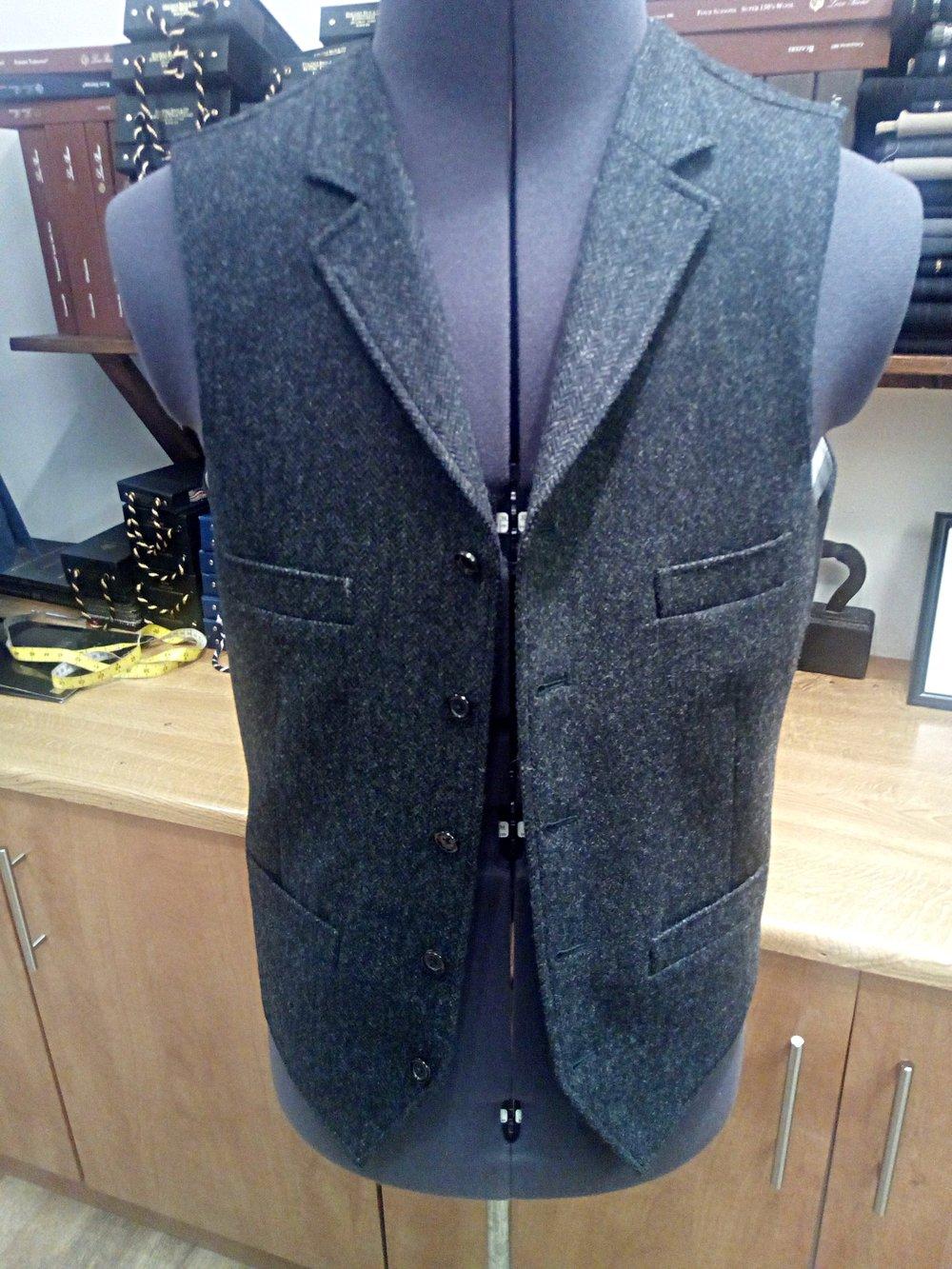 4 pocket waistcoat