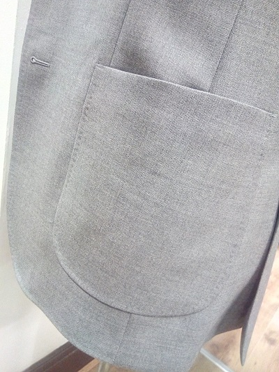 Curved Patch Pocket 3 | Colmore Tailors