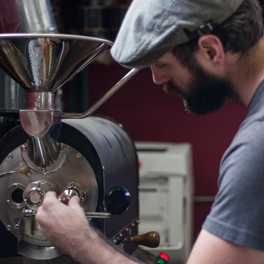 <b>Rob Hoos</b><br>Nossa Familia Coffee<br><i>RP218 - Heat Transfer</i>