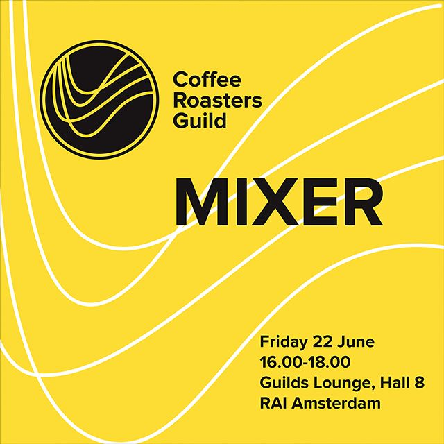 Who's heading to Amsterdam next week? Join us for a CRG Mixer on Friday 22 June from 16:00 - 18:00 in the Guilds Lounge, Hall 8, RAI Amsterdam. There will be talks given by Andy Benedikter (@cropster), Marta Dalton (@thecoffeebird) and Morten Münchow (@coffeemindacademy) and the opportunity to connect with roasters from around the world. Visit crg.coffee for more information. See you there! 👋 #WOCAmsterdam #coffeeroaster #roaster