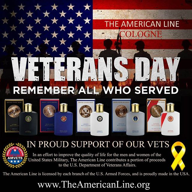 Celebrate Veteran's Day - Take 25% off your entire order all month of November. Enter code THANKYOU  www.TheAmericanLine.org  #veteransday #marines #army #navy #airforce #coastguard #usa