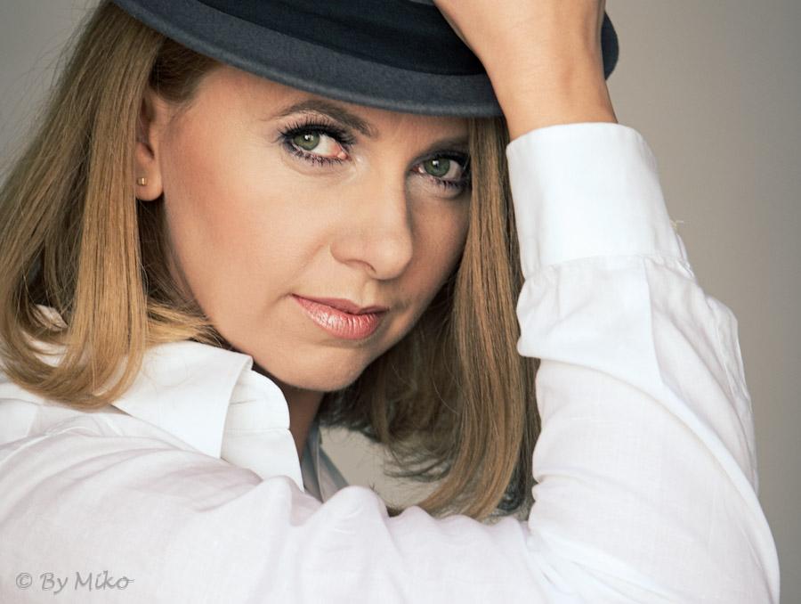 model: Ula  MUA: Małgorzta Abramowicz