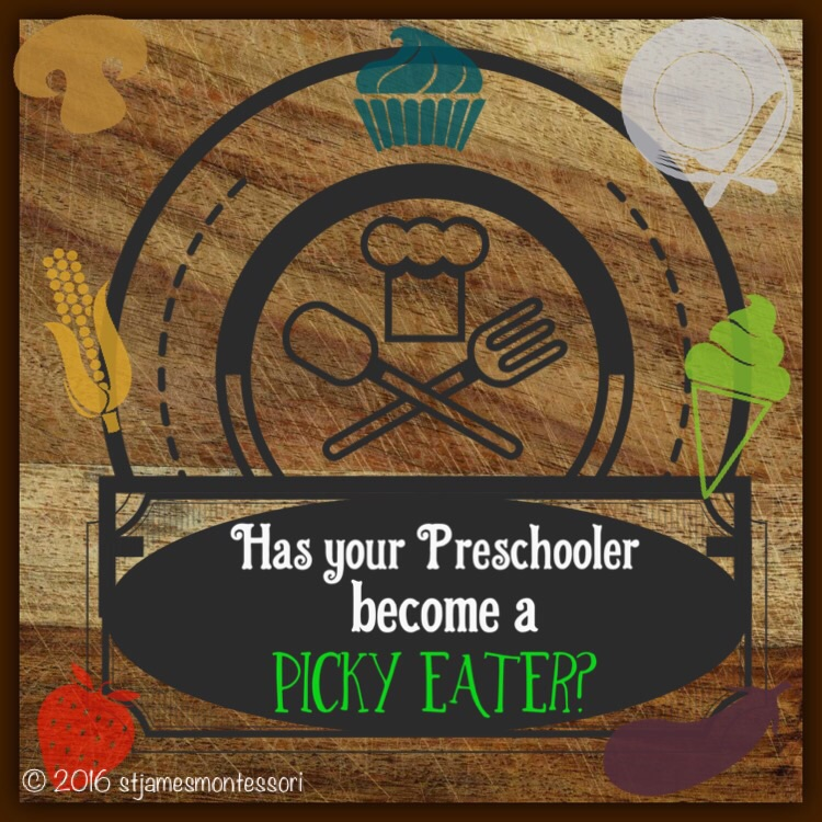 You have entered into the PPE Zone; the Preschool Picky Eater!