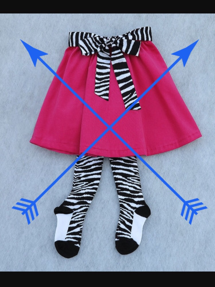 Tights AND skirts? Nope! Not realistic for potty training!! Think SPEED!!