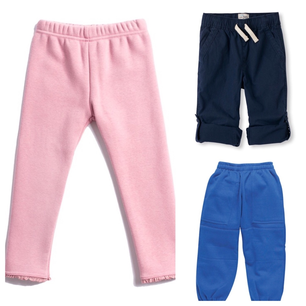 These are all great potty training pants - easy on and easy off, without needing adult's help!