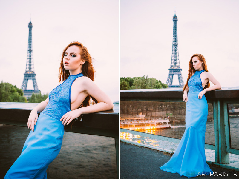 Kira Fashion Model Eiffel Tower 10