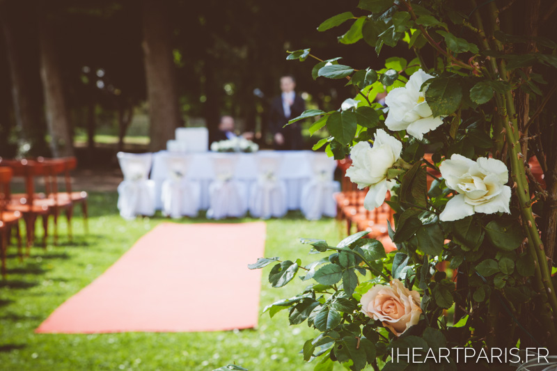 Destination Wedding Austria Ceremony Flowers IheartParis