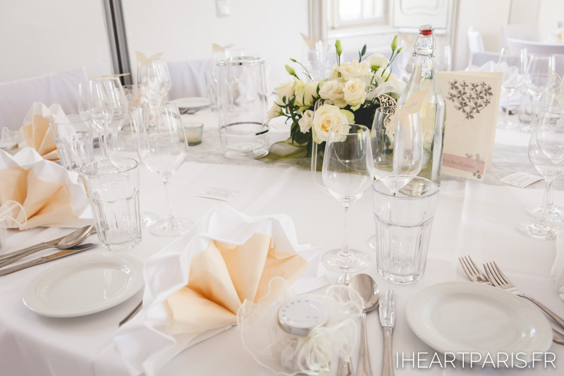 Destination Wedding Austria Tabletop Details IheartParis