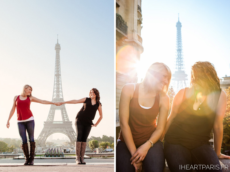 Eiffel Tower Photoshoot Sunrise IheartParis