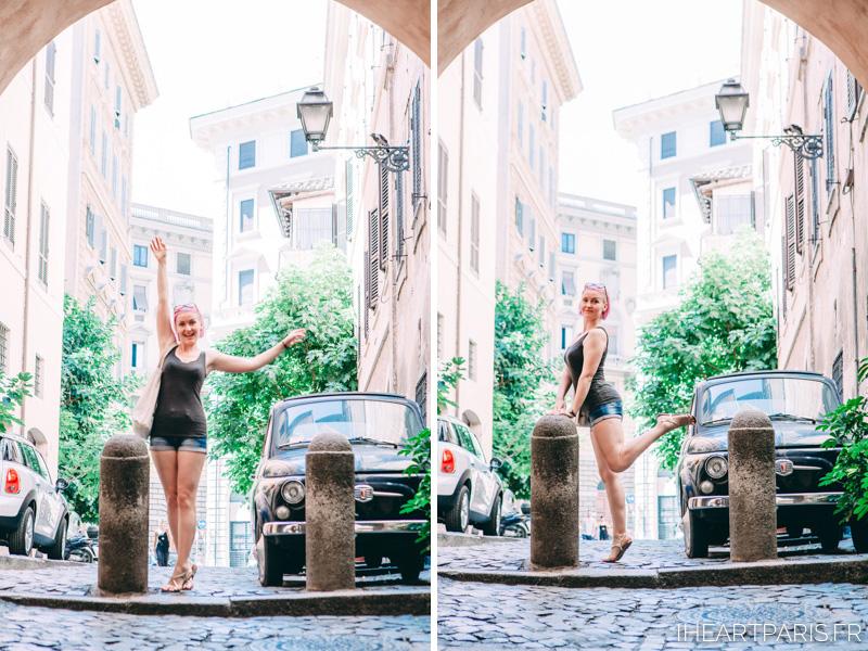 Fiat 500 Roma Summer IheartParis