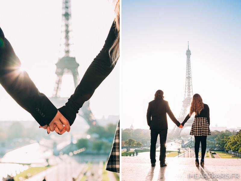 Paris Photographer IheartParis Eiffel Couple