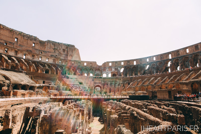 Colliseum Roma Love IheartParis