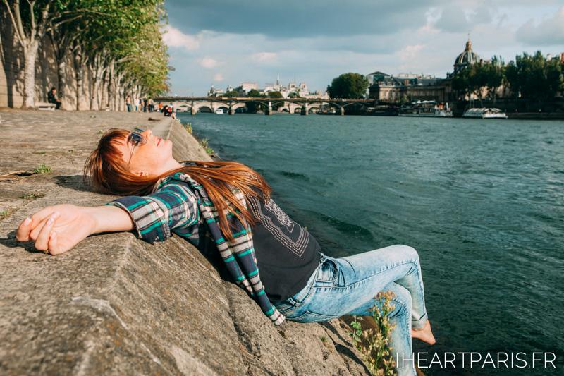 Sunny in Paris Seine IheartParis
