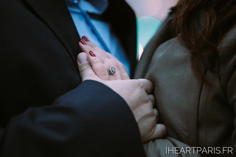 Engagement Paris Session Ring IheartParisfr