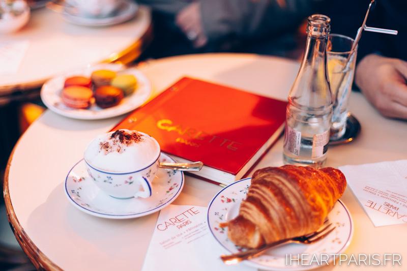 Paris Engagement Session Cafe IheartParisfr