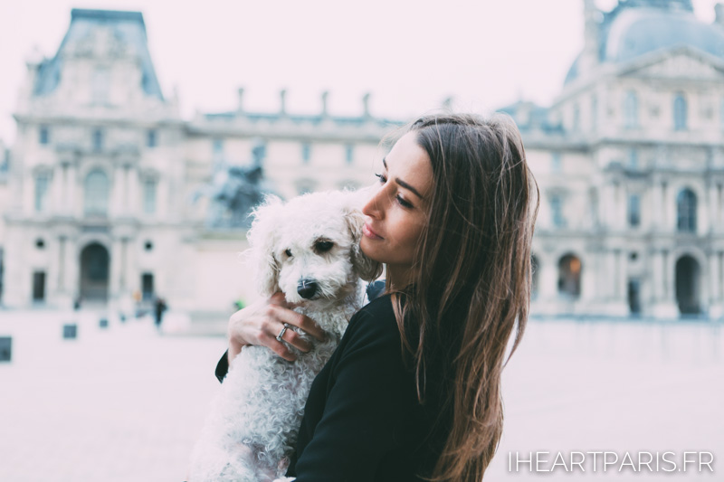 Paris Photographer Fashion Designer Louvre Poodle