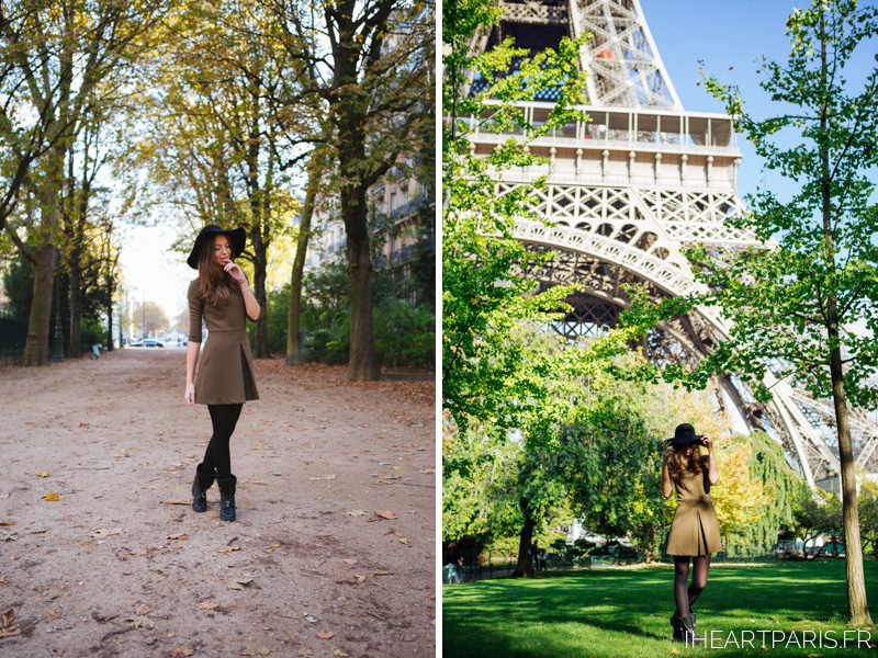 Paris Photographer Fashion Lookbook Eiffel Tower