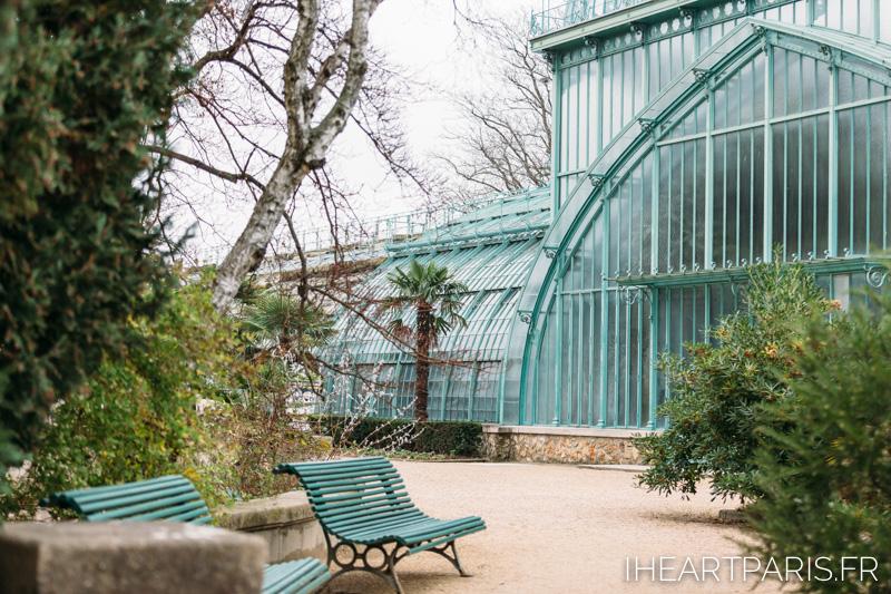 Photographer Paris Postcards Boulogne Bench Greenhouse IheartParisfr