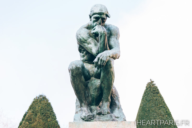 Thinker Musee Rodin IheartParisfr