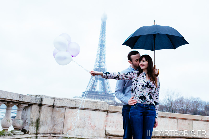 Photographer in Paris Engagment Eiffel Tower iheartparisfr