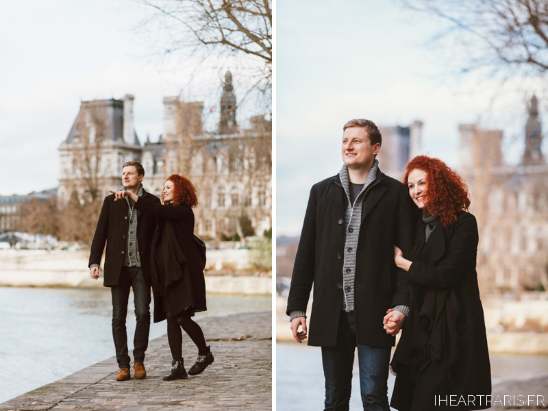 paris photographer ile saint louis couple session iheartparisfr
