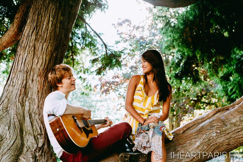 Photographer Paris Couple Love Serenade IheartParisfr