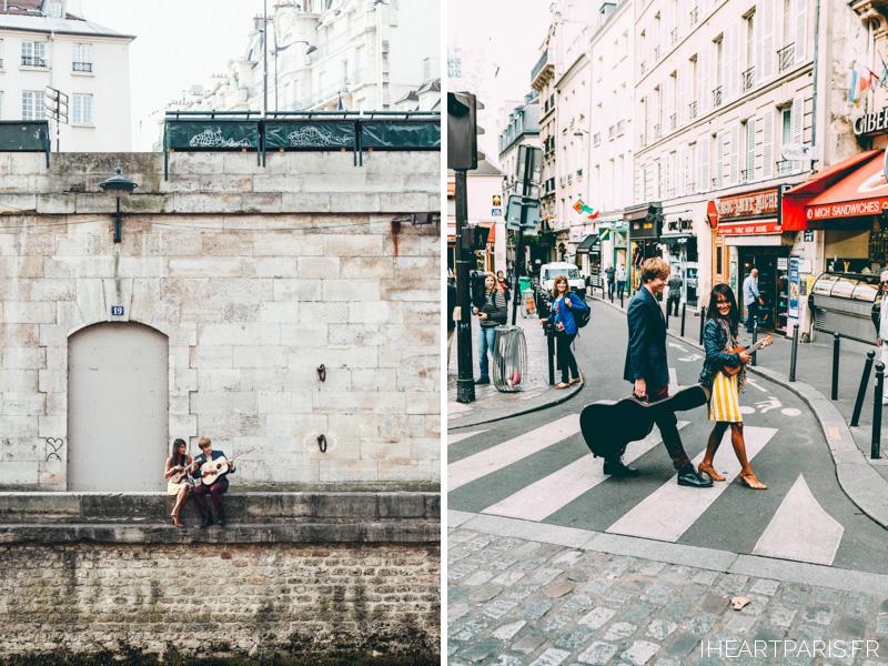 Photographer Paris Couple Love Story Musicians IheartParisfr