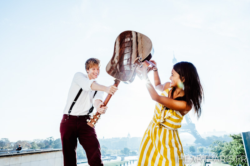 Photographer Paris Couple LoveStory Fun IheartParisfr