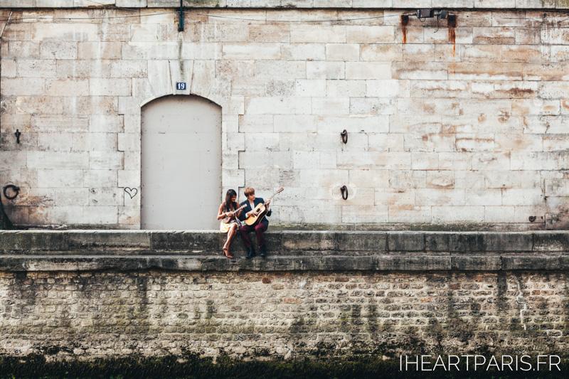 Photographer Paris Love Story Music Seine IheartParisfr