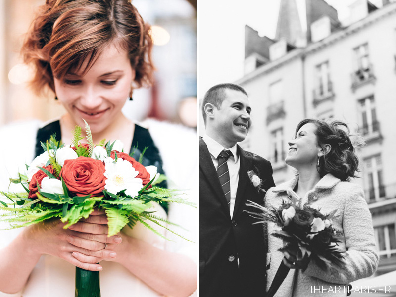destination wedding france nantes bouquet portrait iheartparisfr