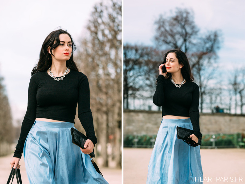 Paris Photographer Street Style Tuileries IheartParisfr