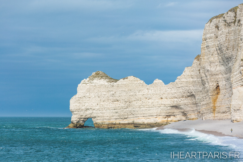 Photographer in Paris postcards etretat cliff beach iheartparisfr