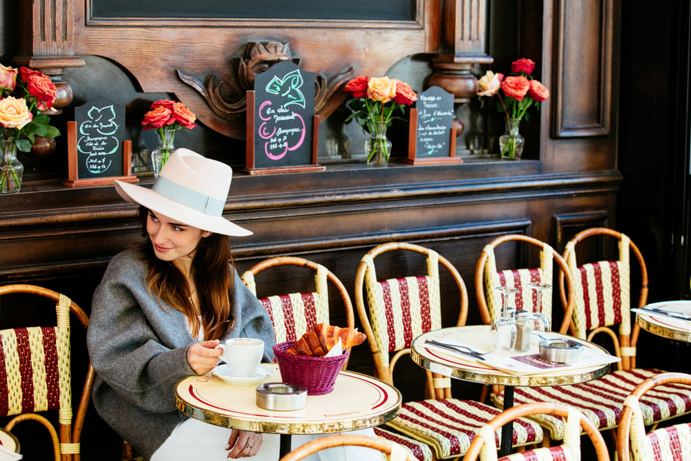 Paris Photographer Cafe in Paris portrait Brand Lookbook Iheartparisfr