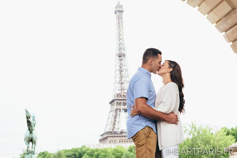 Photographer in Paris, Couple Photoshoot, Bir Hakeim, Eiffel Tower, iheartparisfr