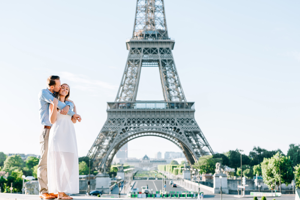 Photographer in Paris, Couple Session, Eiffel Tower, Trocadero, Iheartparisfr