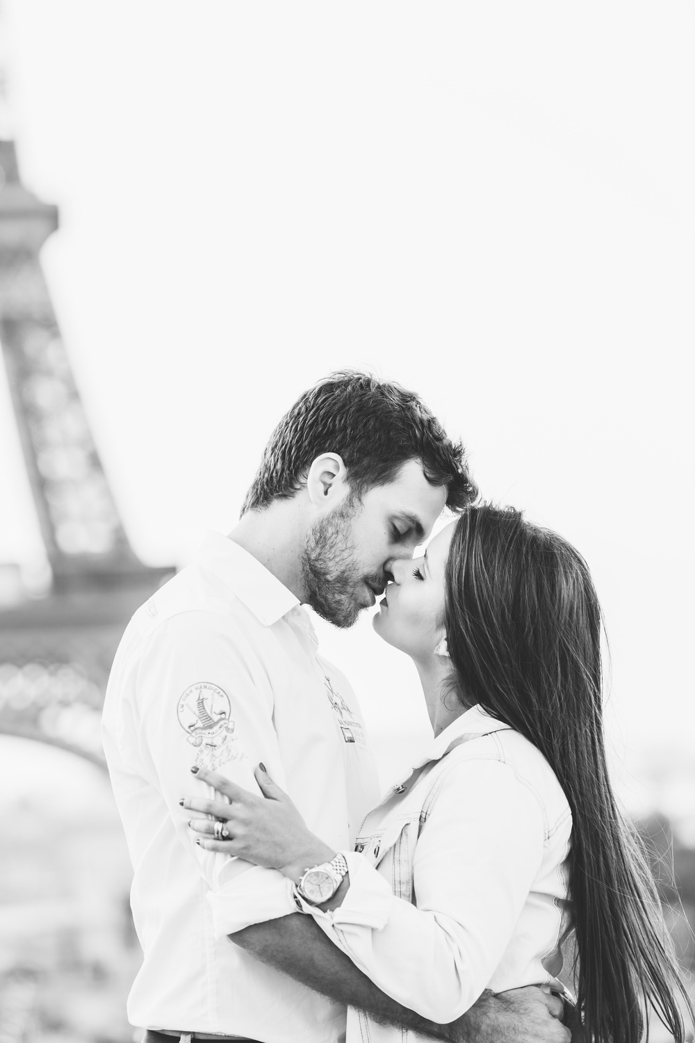 Photographer in Paris Eiffel Tower Love Lovebirds Trocadero Iheartparisfr