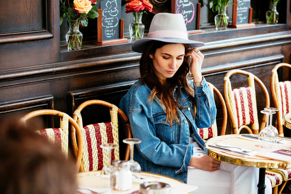 Photographer in Paris, portrait, Cafe in Paris, portrait, Brand, Lookbook, Iheartparisfr