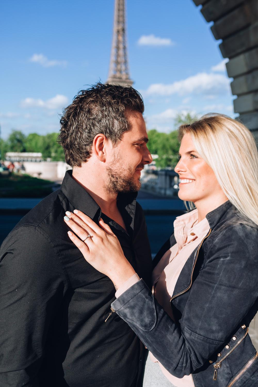 Photographer in Paris Surprise Proposal Eiffel Tower Bir Hakeim Iheartparisfr