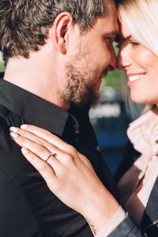 Photographer in Paris Surprise Proposal Eiffel Tower Bir Hakeim Engagement Ring Iheartparisfr