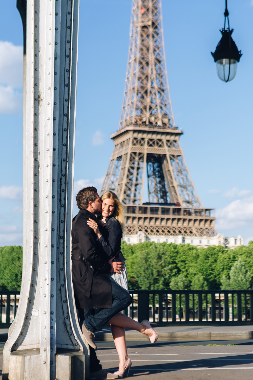 Photographer in Paris Surprise Proposal Bir Hakeim Eiffel Tower Iheartparisfr