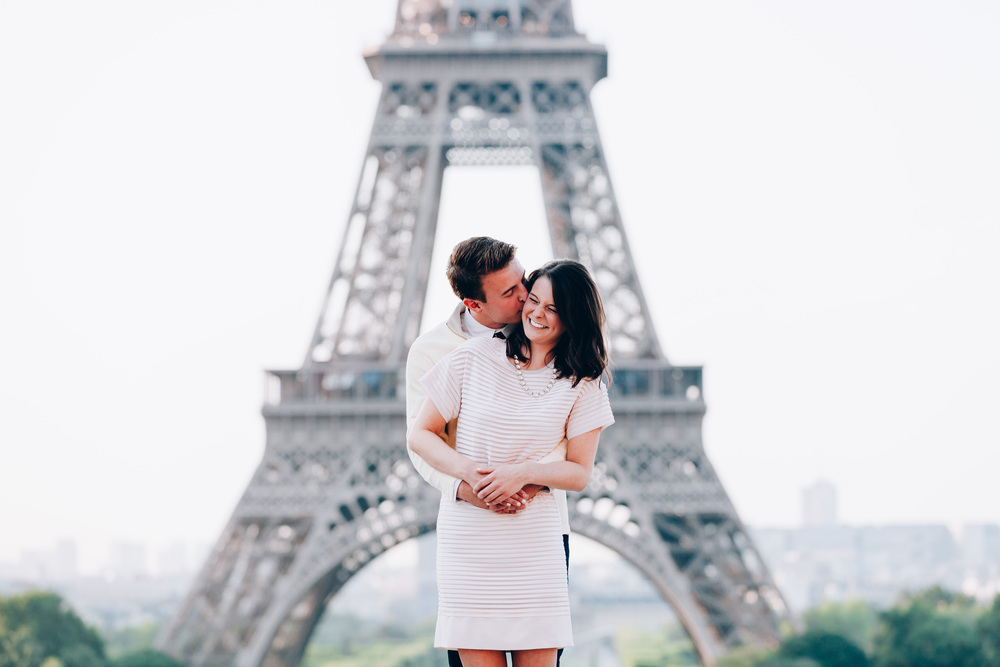 Photographer in Paris, Eiffel Tower, Surprise Proposal, Laugh, Kiss, Iheartparisfr