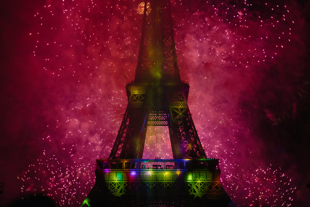 Photographer in Paris, Fireworks, Bastille, Eiffel Tower, Iheartparisfr